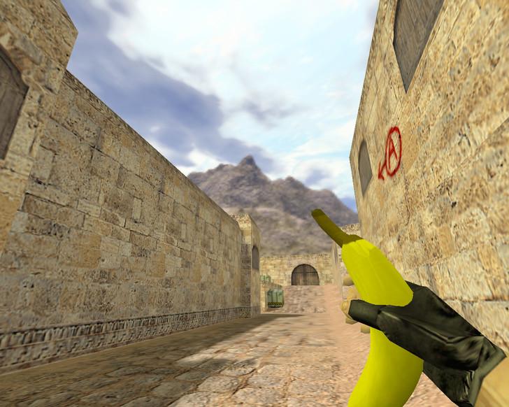 «Граната Банан» для CS 1.6