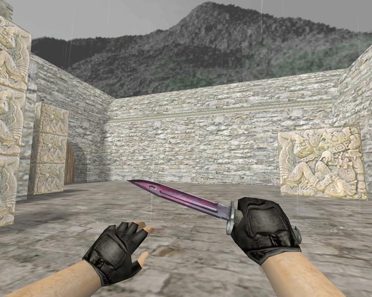 «Штык-нож | Волны Фаза 1 (Doppler)» для CS 1.6