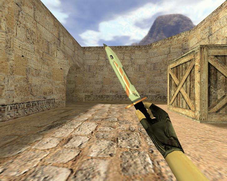 «Штык-нож Азимов» для CS 1.6