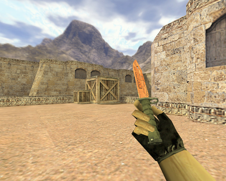 «Штык-нож БАХ» для CS 1.6