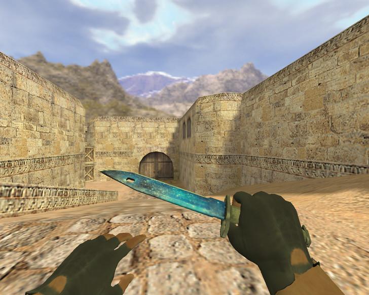«Штык-нож Космос» для CS 1.6