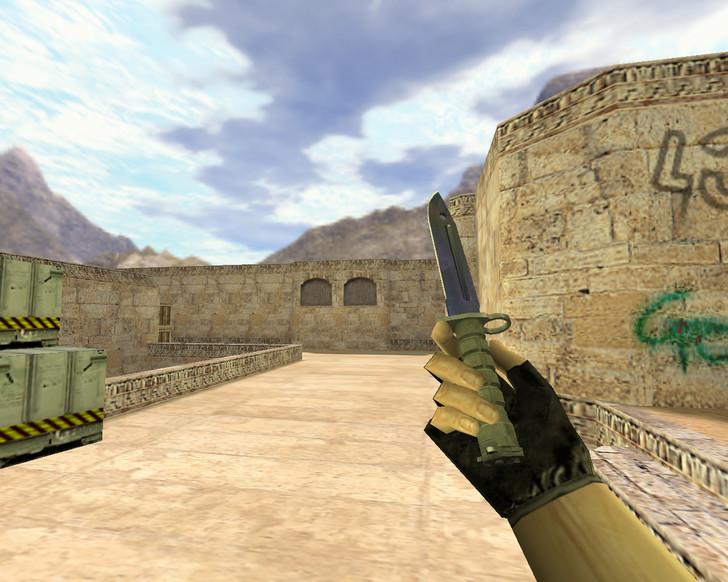 «Штык-нож Волны» для CS 1.6