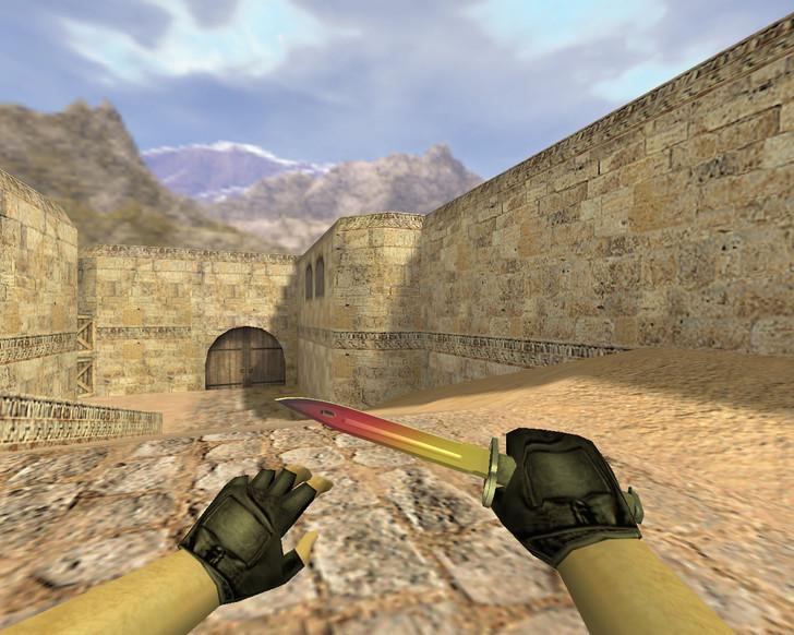 «Штык-нож Градиент» для CS 1.6
