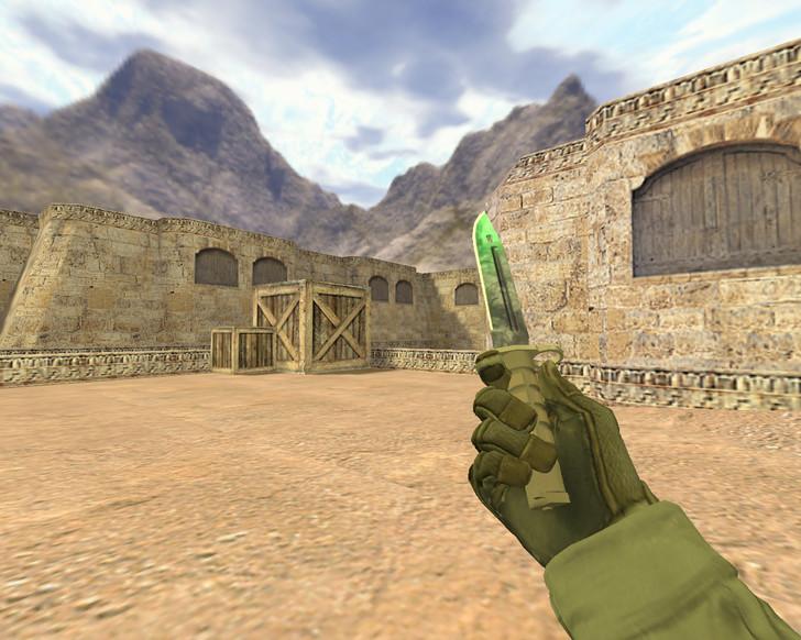 «Штык-нож Гамма-волны» для CS 1.6