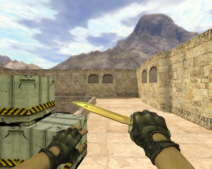 «Штык-нож Лор» для CS 1.6