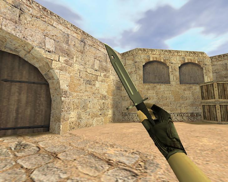 «Штык-нож Ночь» для CS 1.6