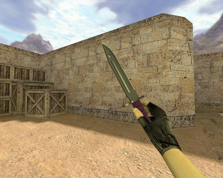 «Штык-нож Ультрафиолет» для CS 1.6