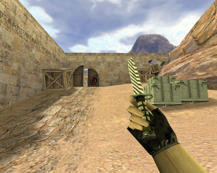 «Штык-нож Зебра» для CS 1.6