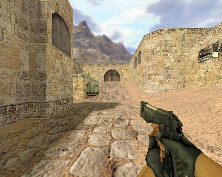 «Beretta с дульным тормозом» для CS 1.6