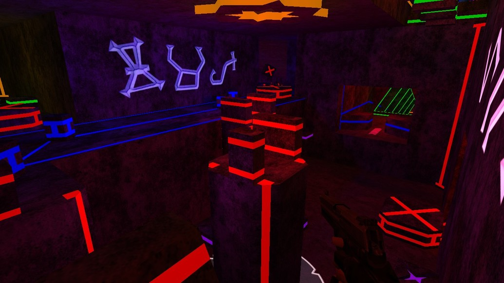 «bhop_ytt_neon_light» для CS 1.6