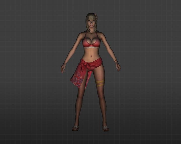 «девушка в купальнике» для CS 1.6