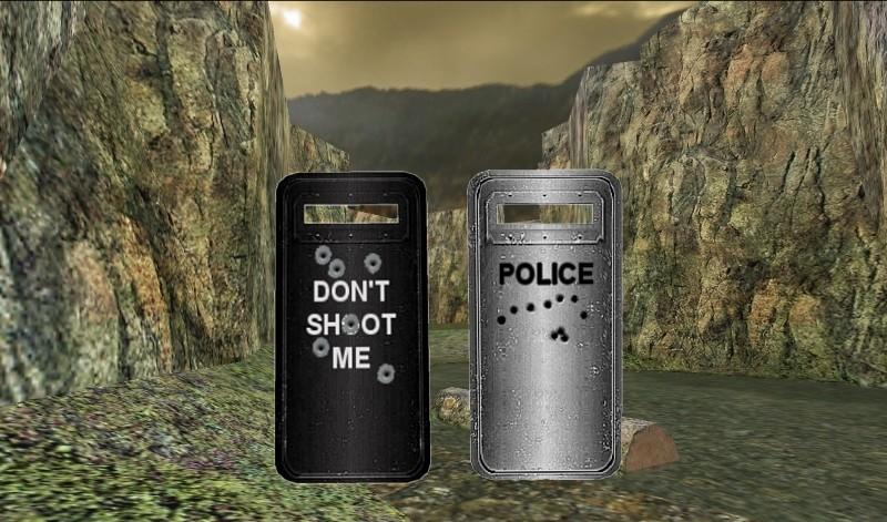 «Black and Silver Riot Shields» для CS 1.6
