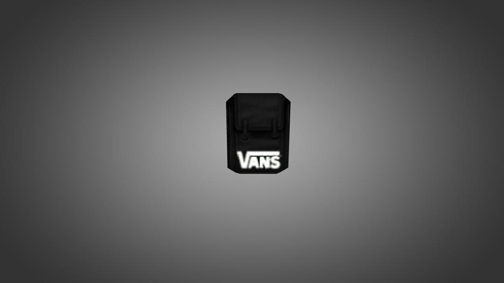 «Черный рюкзак Vans» для CS 1.6