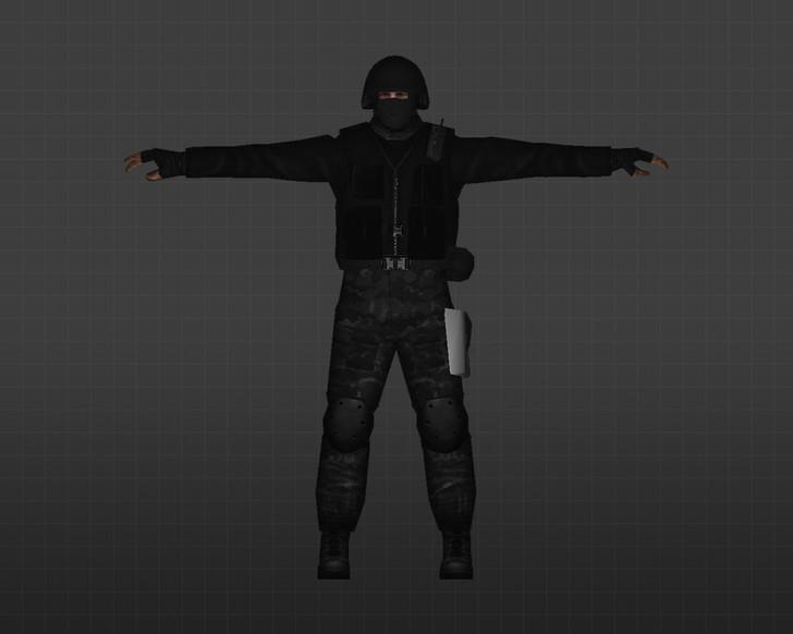 «Черные волки» для CS 1.6