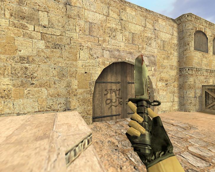 «Кровавый нож М9» для CS 1.6