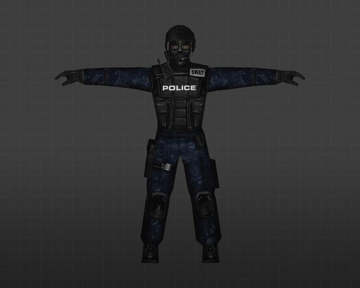 «Солдаты в синем камуфляже» для CS 1.6
