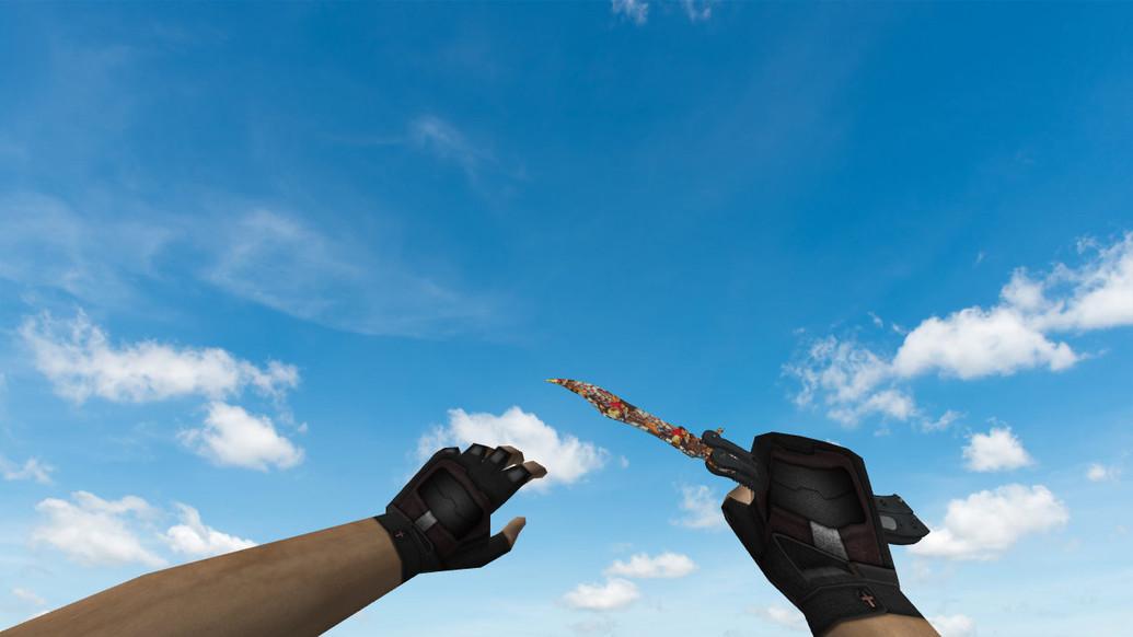 «Butterfly Knife «Лапки»» для CS 1.6