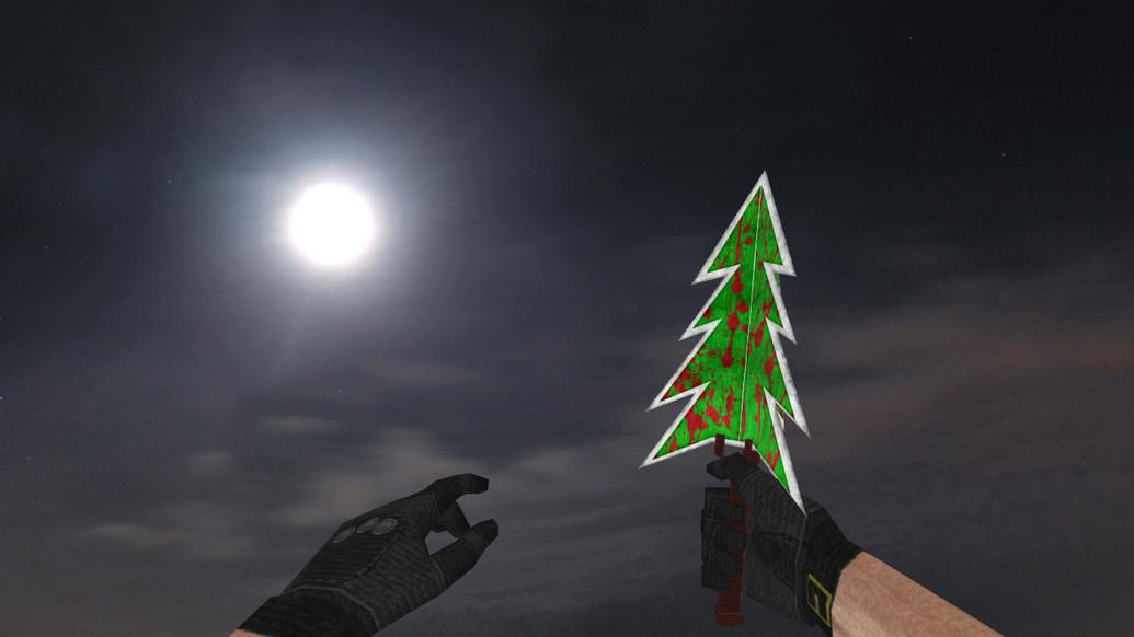 «Нож «Ёлка»» для CS 1.6