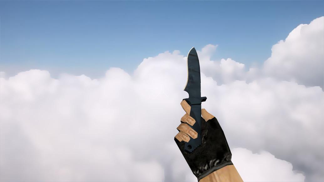 «Классический нож   Вороненая сталь» для CS 1.6