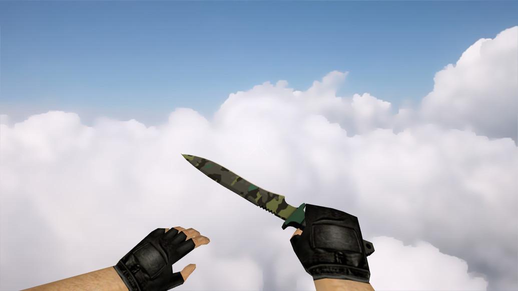 «Классический нож | Северный лес» для CS 1.6
