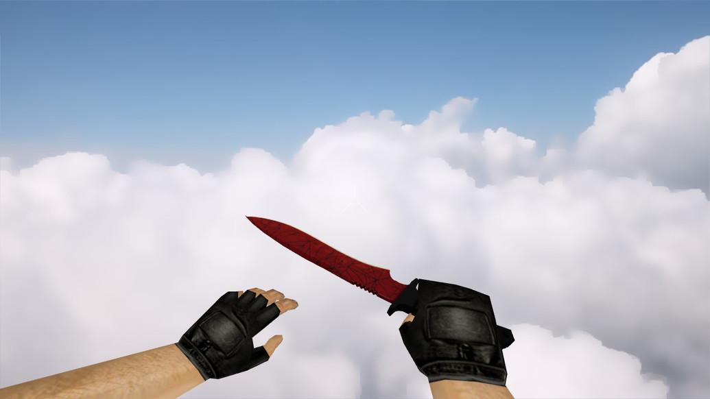 «Классический нож | Кровавая паутина» для CS 1.6