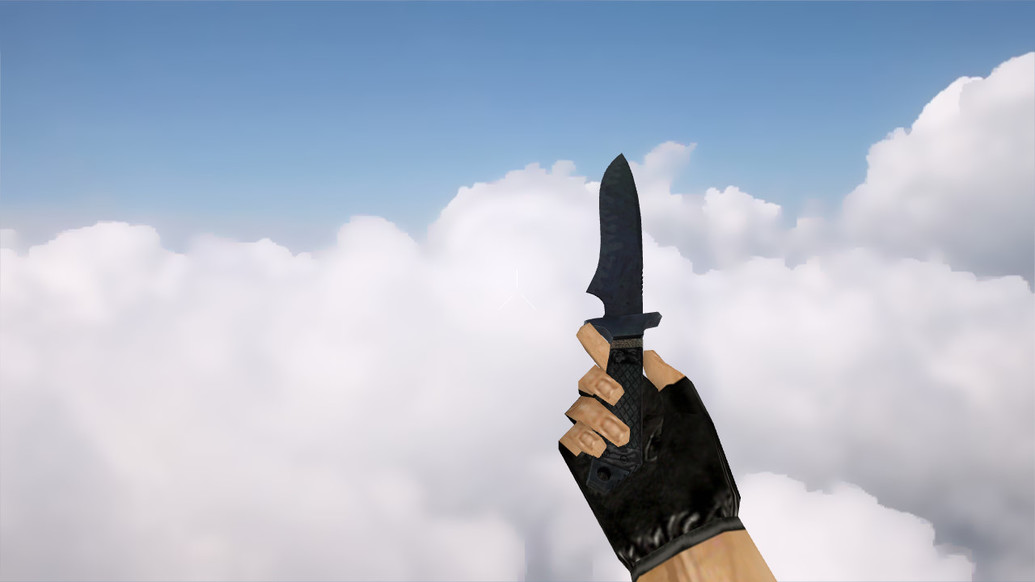 «Классический нож | Ночная полоса» для CS 1.6