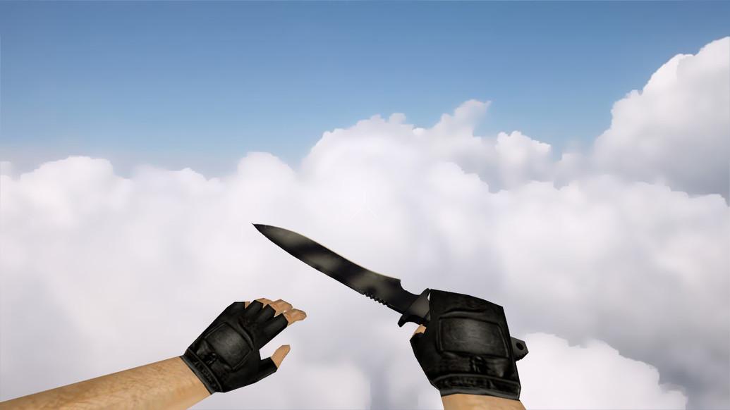 «Классический нож | Сажа» для CS 1.6