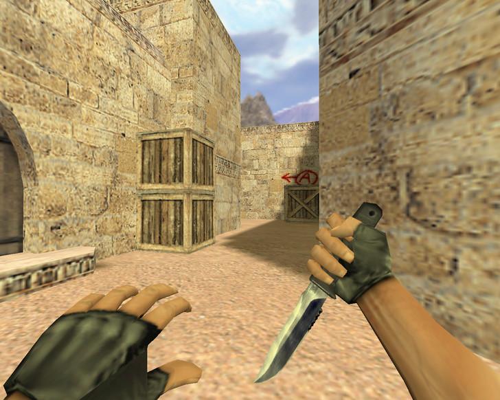 «Нож из CS 1.5» для CS 1.6