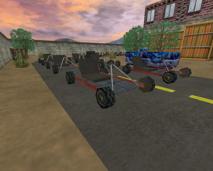 «cs_gokarts2race» для CS 1.6