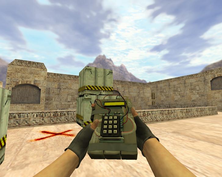 «Бомба из CS:GO» для CS 1.6