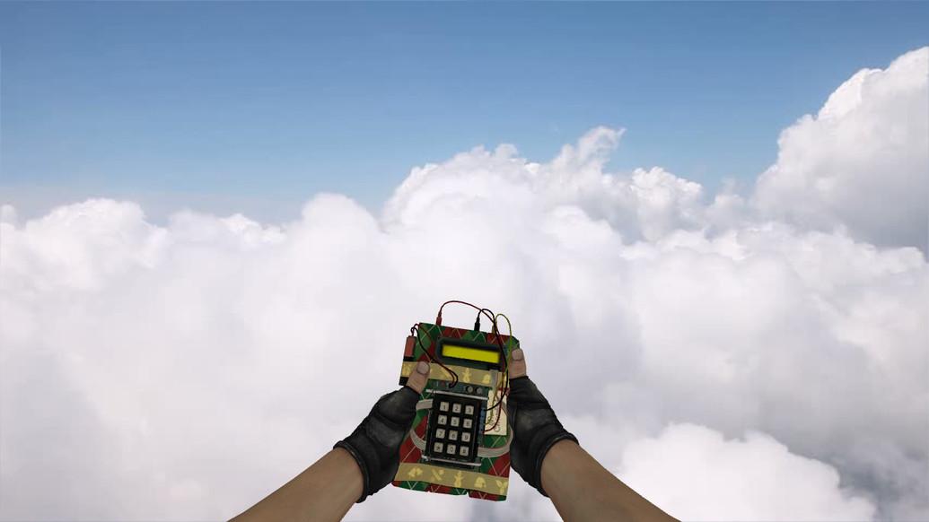 «Новогодняя бомба из CS:GO» для CS 1.6