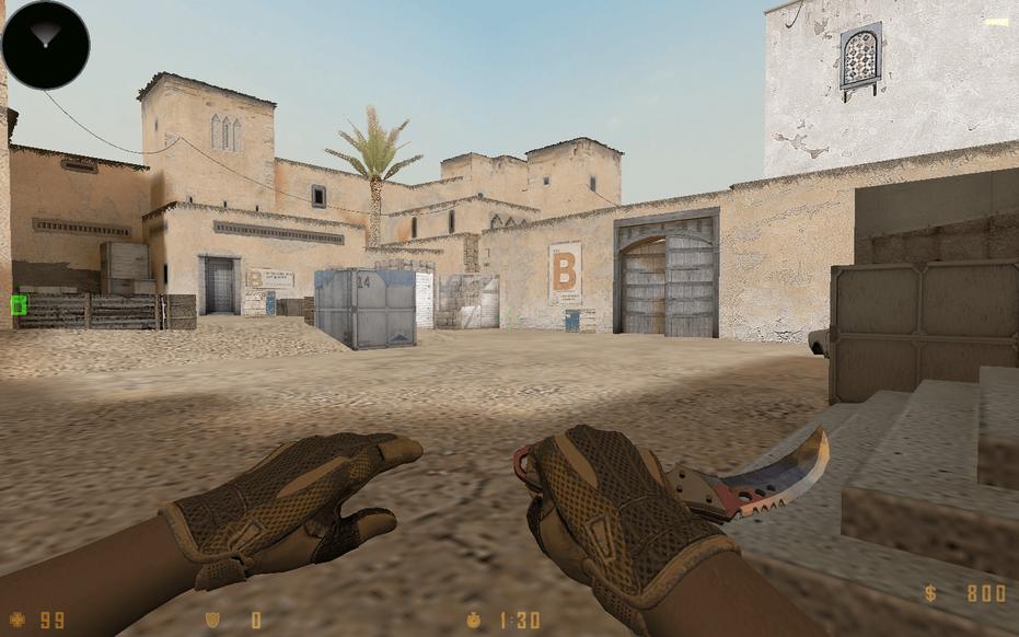 «CS:GO Dust2 2017+» для CS 1.6