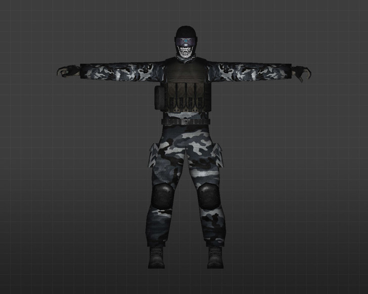 «Отряд черепа» для CS 1.6