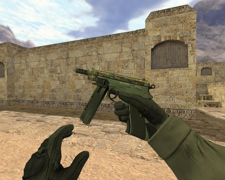 «CZ-75 Армейский блеск» для CS 1.6