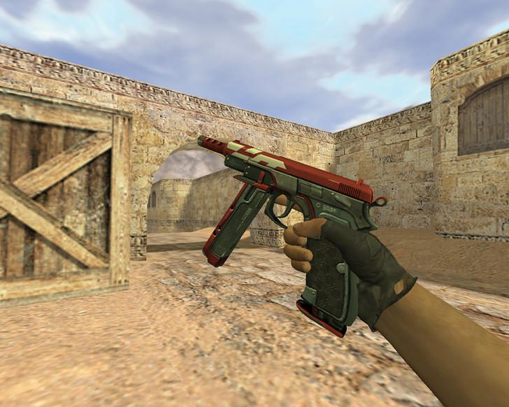 «CZ-75 Красный ястреб» для CS 1.6