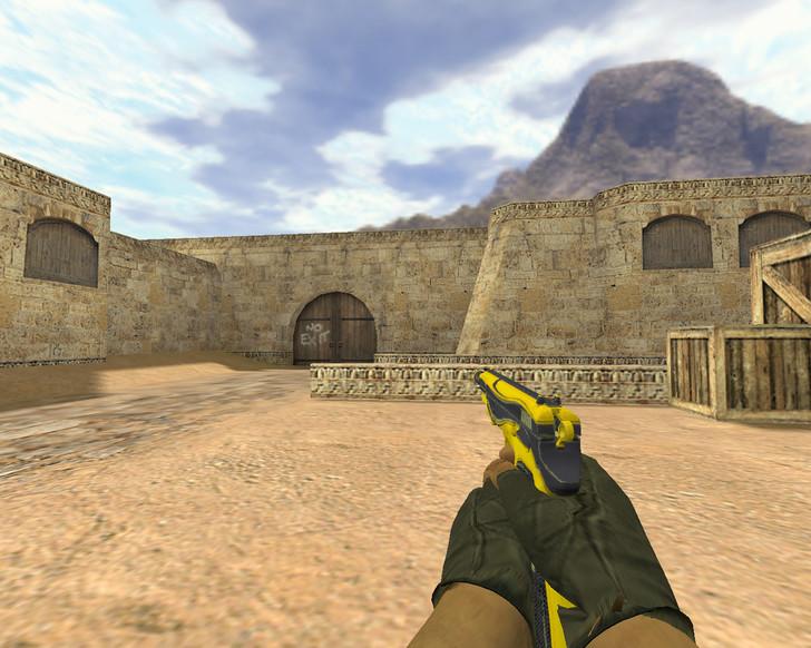 «CZ-75 Желтый жакет» для CS 1.6