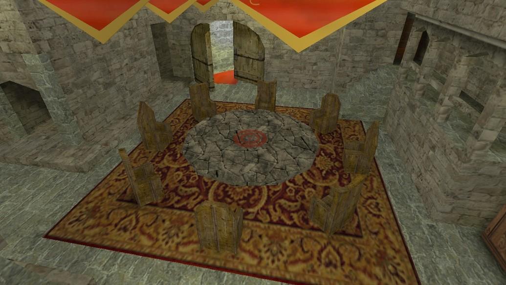 «de_17b_castle_v1» для CS 1.6