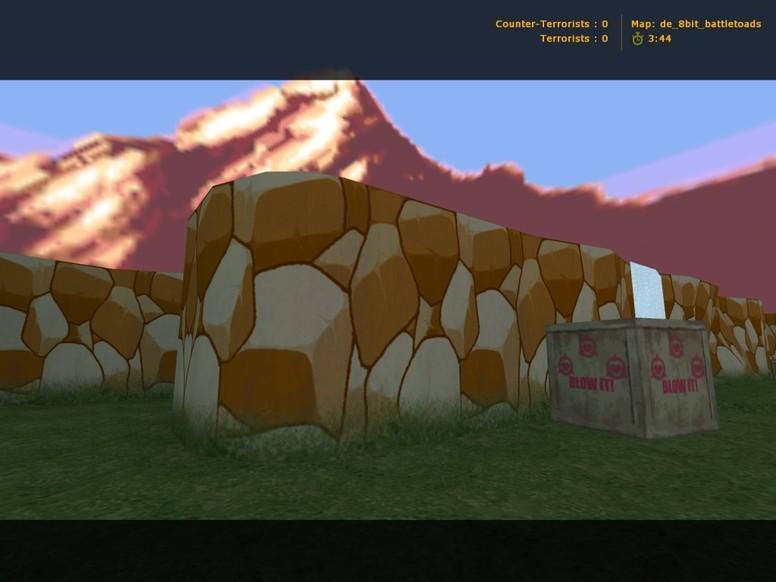 «de_8bit_battletoads» для CS 1.6