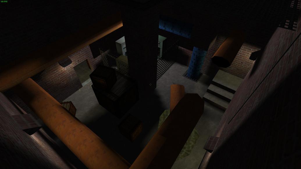 «de_alley23» для CS 1.6