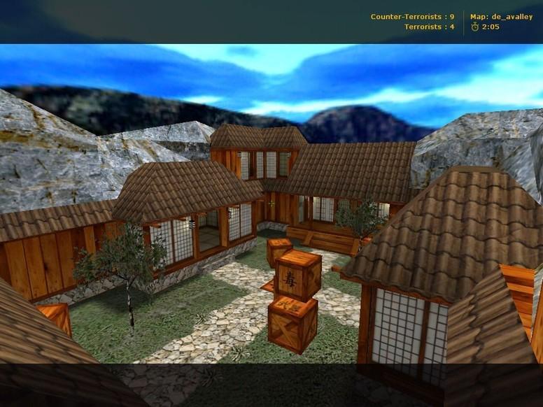 «de_avalley» для CS 1.6