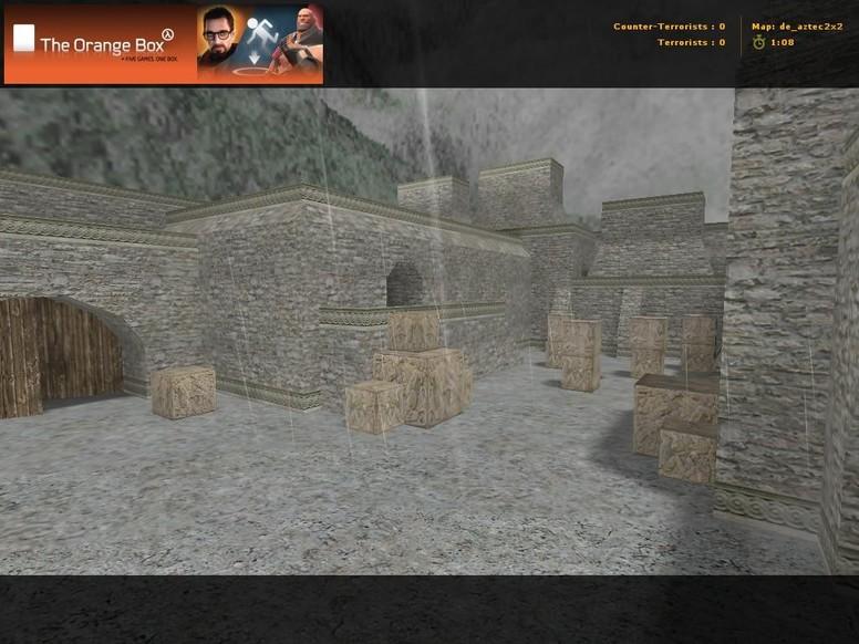 «de_aztec2x2» для CS 1.6