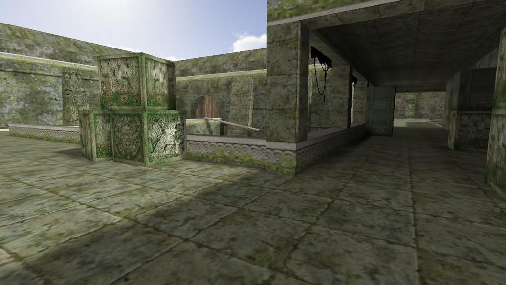 «de_aztec_1337» для CS 1.6