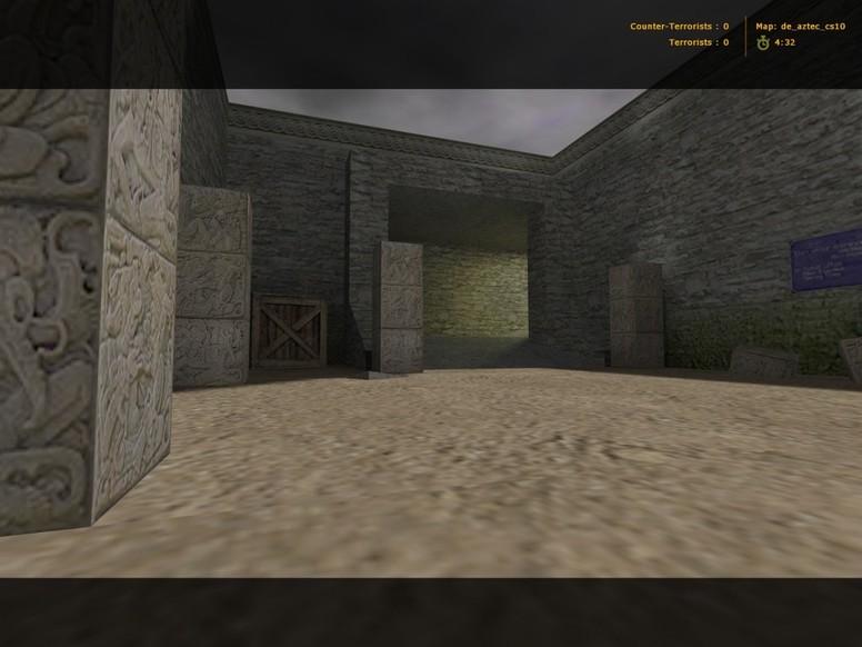 «de_aztec_cs10» для CS 1.6