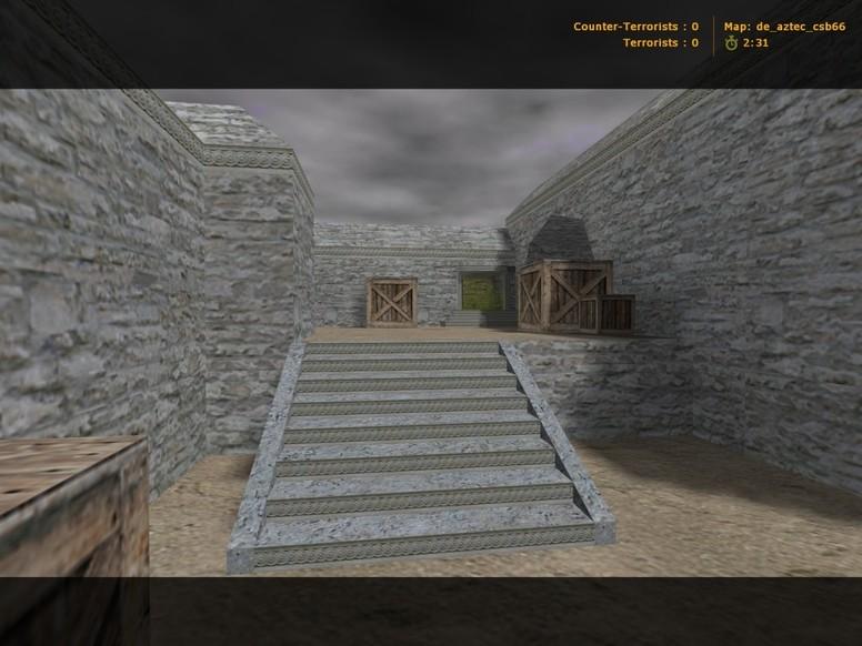 «de_aztec_csb66» для CS 1.6