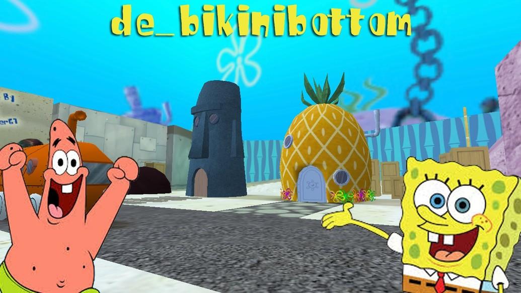 «de_bikinibottom» для CS 1.6