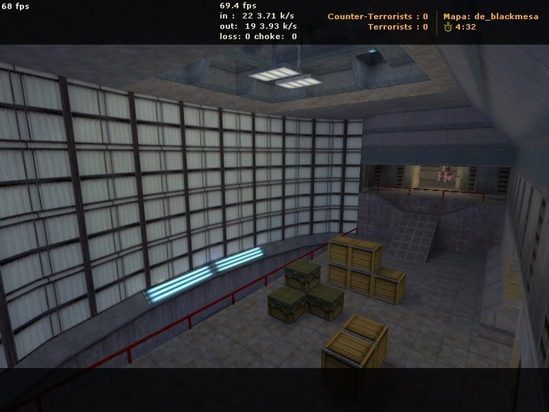 «de_blackmesa» для CS 1.6