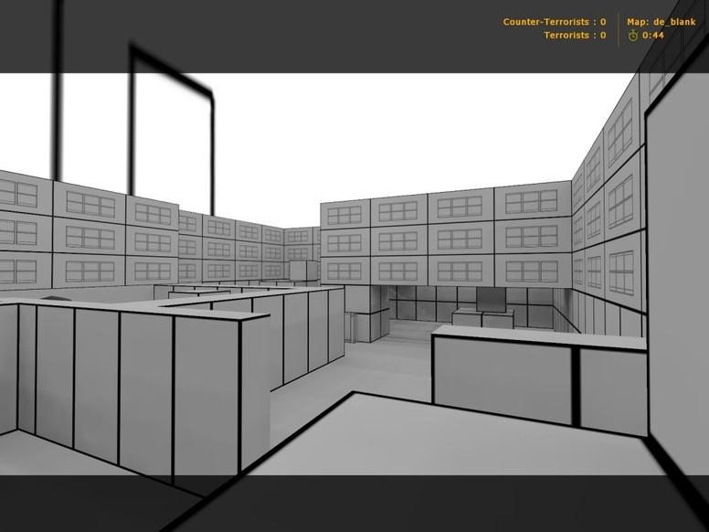 «de_blank» для CS 1.6
