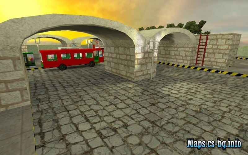 «de_bus33» для CS 1.6
