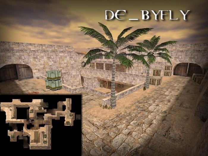 «de_byfly» для CS 1.6