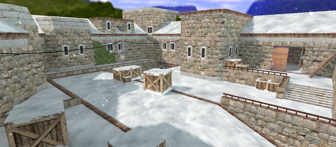 «de_cbble_winter» для CS 1.6